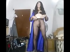 Chinese crossdresser hot masturbation - TScamdolls.com