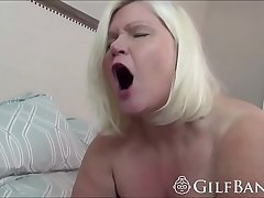 Passionate GILF with brutal ass and tits got penetrated
