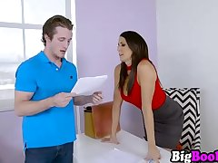 Demanding Reagan Foxx corrects employee mistakes with sex