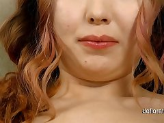 Arina Sunflower: virginity confirmation and masturbation.