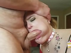 Good Housewife Craves Penis in Her Throat (No Hands) - AMleaks.com