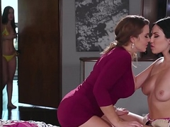 MOMMY'S GIRL - Jealous Daughter joins to her Mom and Stepsis - Alina Lopez, Jade Baker and Natasha NicE