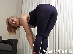 You can watch me do my daily yoga routine JOI