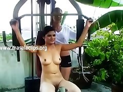 Bangalore Girl Hot Full Nude Gym Exercise