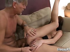 Leony Dark and older guy